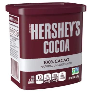 Bột ca cao nguyên chất 100% Hershey's Mỹ 226g