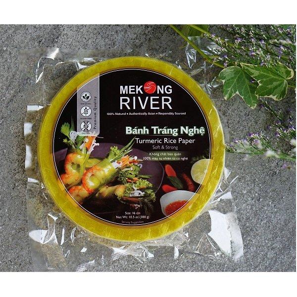 Bánh tráng nghệ Mekong River 16cm 300g