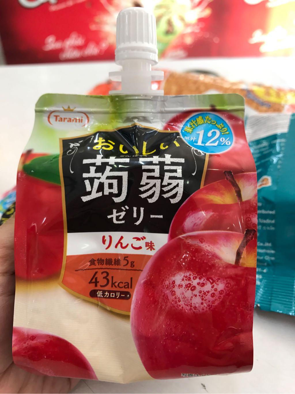 Thạch nước Tarami vị táo Nhật Bản 150g