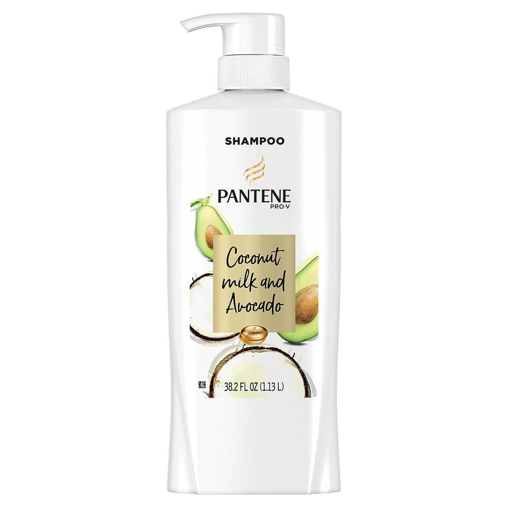 Dầu gội Pantene Pro-V chiết xuất Sữa dừa và Bơ 1,13L Mỹ