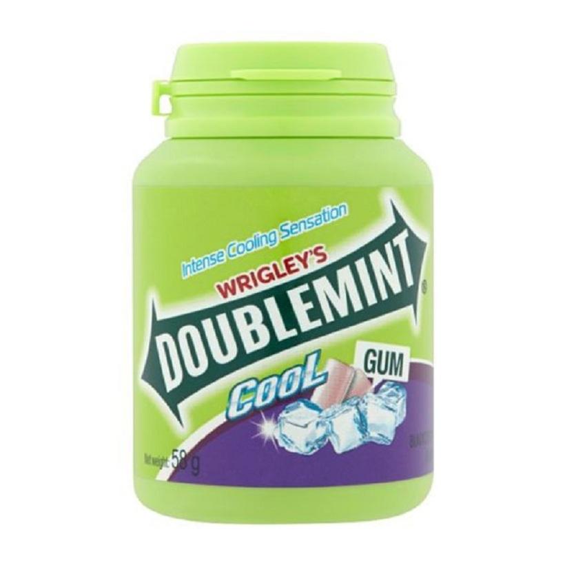 Kẹo sing gum Doublemint hương nho 58.4g*6