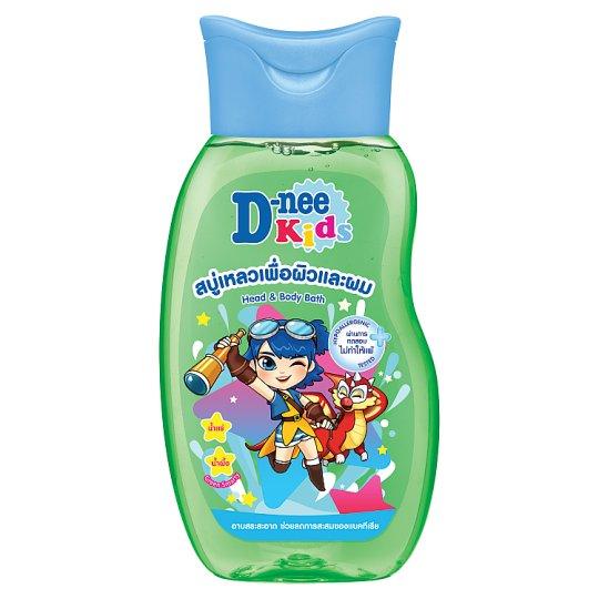Sữa tắm gội toàn thân trẻ em Dnee Kids xanh lá 200ml Thái Lan