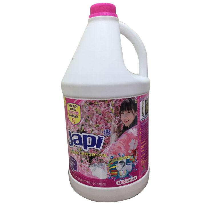Nước giặt xả Japi hồng 3,5L