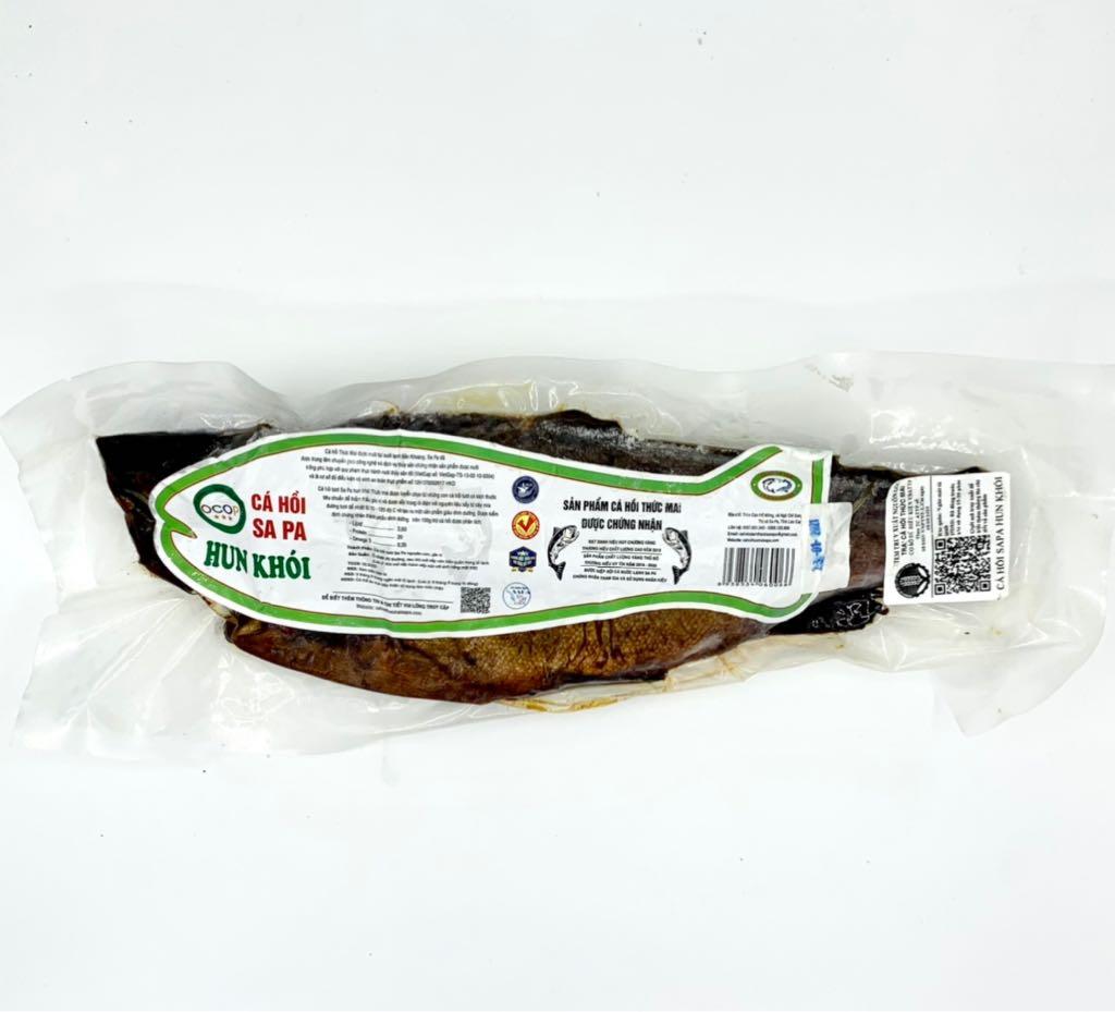 Cá hồi hun khói Sa Pa (750.000/kg)