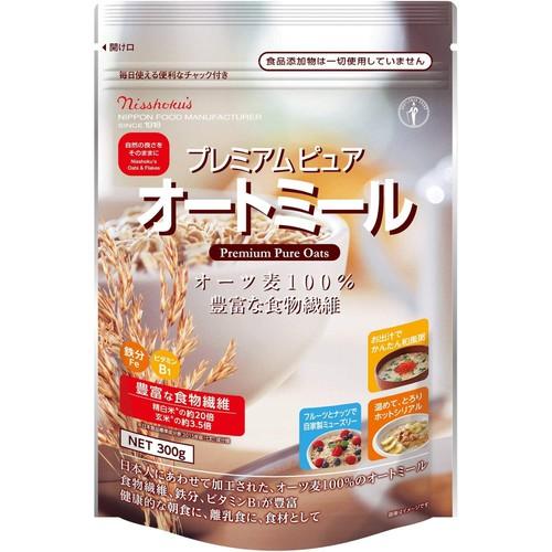 Yến mạch Nishoku's nguyên chất 100% Nhật Bản 300g