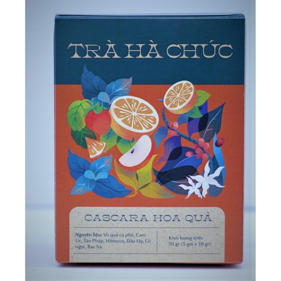 Trà Hà Chúc Cascara hoa quả 50g