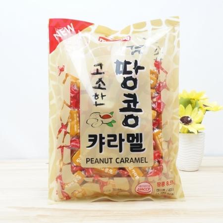Kẹo Melland Peanut Caramel nhân lạc Hàn Quốc 400g