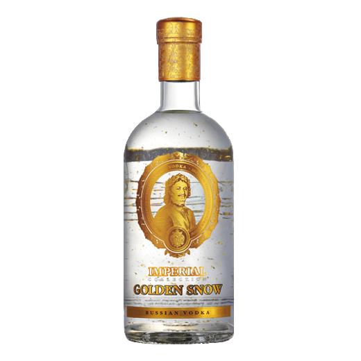 Rượu Vodka Sa Hoàng vảy vàng Imperial Nga 40% 700ml