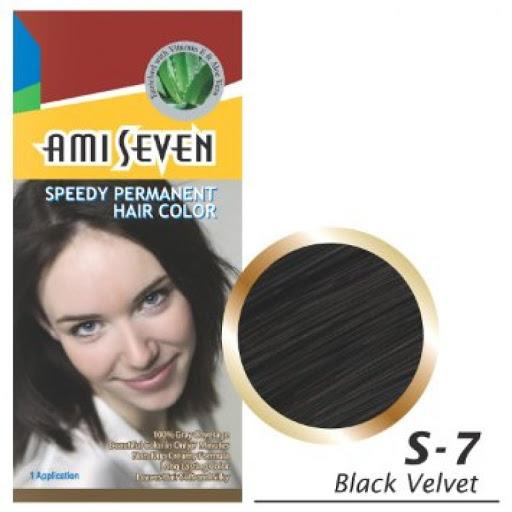 Thuốc nhuộm phủ bạc dược thảo Ami Seven màu S7-đen tự nhiên Hàn Quốc