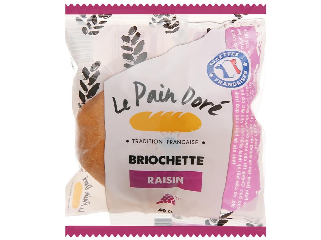 Bánh mì briochette nho Le Pain Dore gói 40g