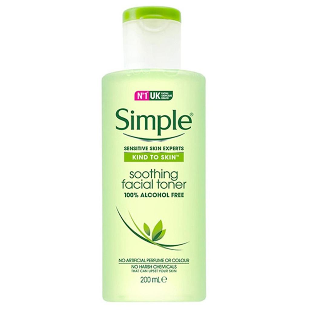 Nước hoa hồng Simple Kind to Skin 200ml Anh