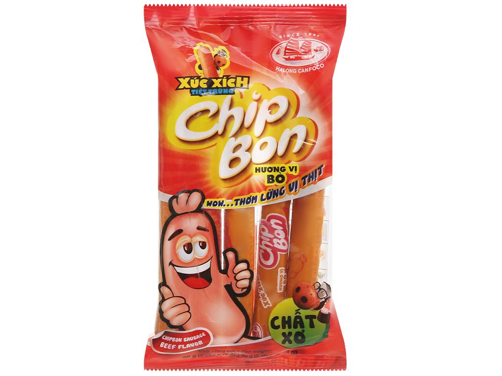 Xúc xích chipbon vị bò 90g