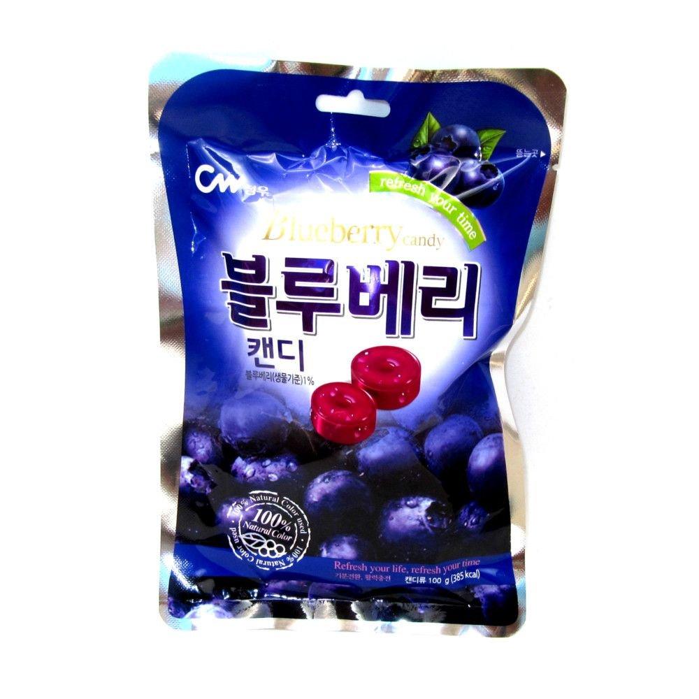 Kẹo việt quất Blueberry Candy CW Hàn Quốc 100g