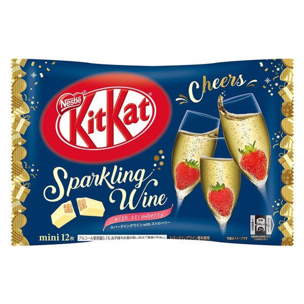 Bánh Kitkat mini 12 thanh Sparkling Wine Nestle Nhật Bản