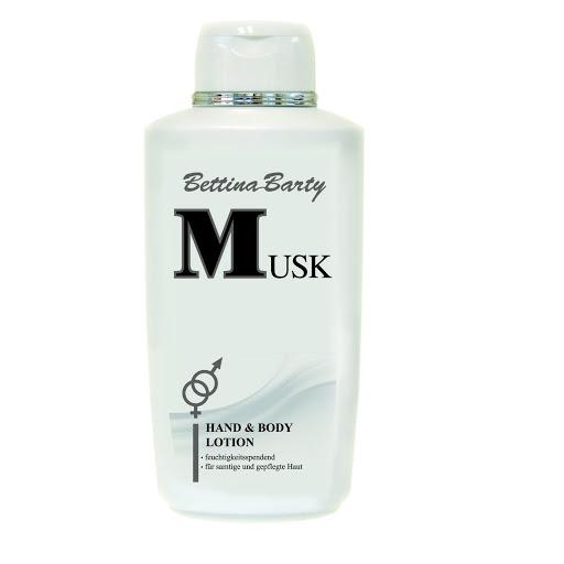 Sữa dưỡng thể trắng da Musk Bettina Barty 500ml Đức