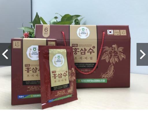 Nước hồng sâm Hàn Quốc NONG-HYUP (30gói*50ml)