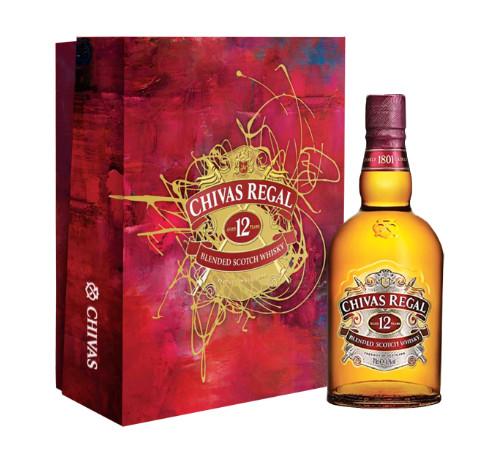 Rượu Whisky Chivas Regel 12 Y.O hộp quà 40% Scotland