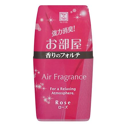 Hộp khử mùi toilet hương hoa hồng 200ml Nhật Bản