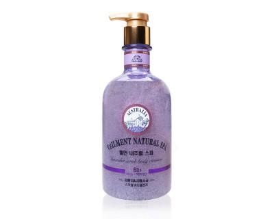Sữa tắm hạt Véilment Natural Spa hương Lavender 600g Hàn Quốc