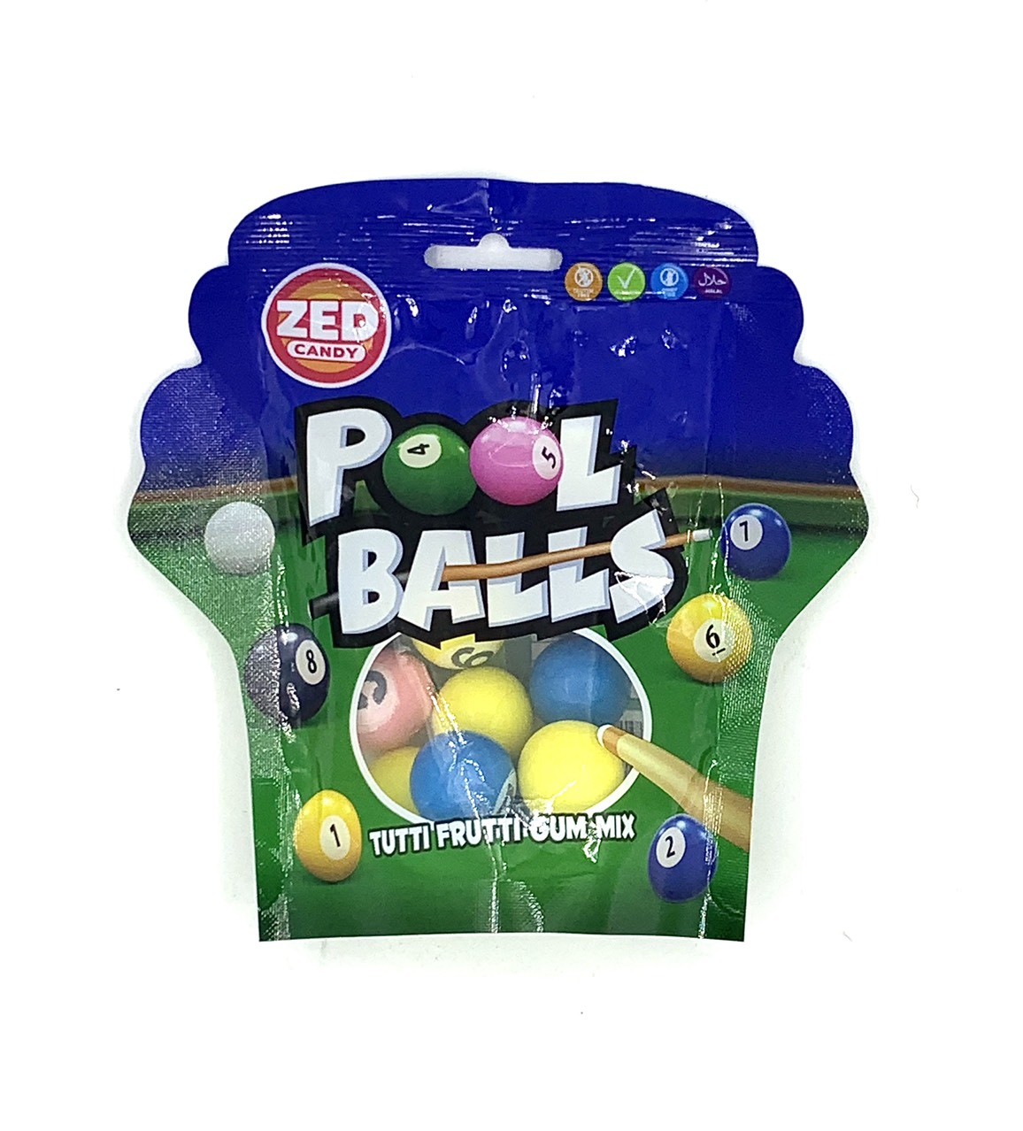 Kẹo gum Pool Balls 47g