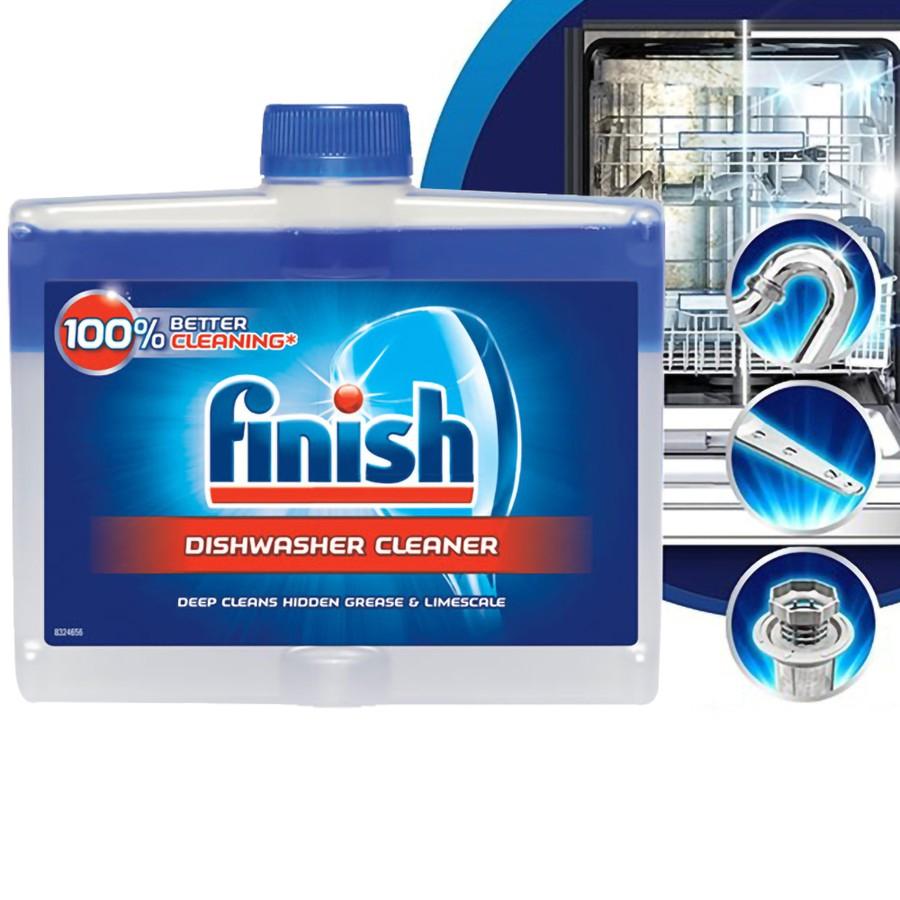 Dung dịch vệ sinh máy rửa bát Finish 250ml Đức