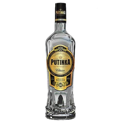 Rượu vodka Putinka Classic Bogka Nga 40% 700ml