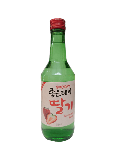 Rượu soju Good Day vị dâu tây Hàn Quốc 360ml