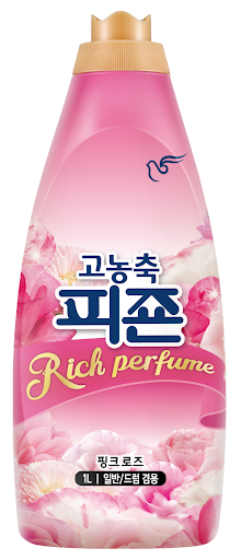 Nước xả vải Pigeon đậm đặc Rich Perfume hương hoa lãng mạn 1L Hàn Quốc