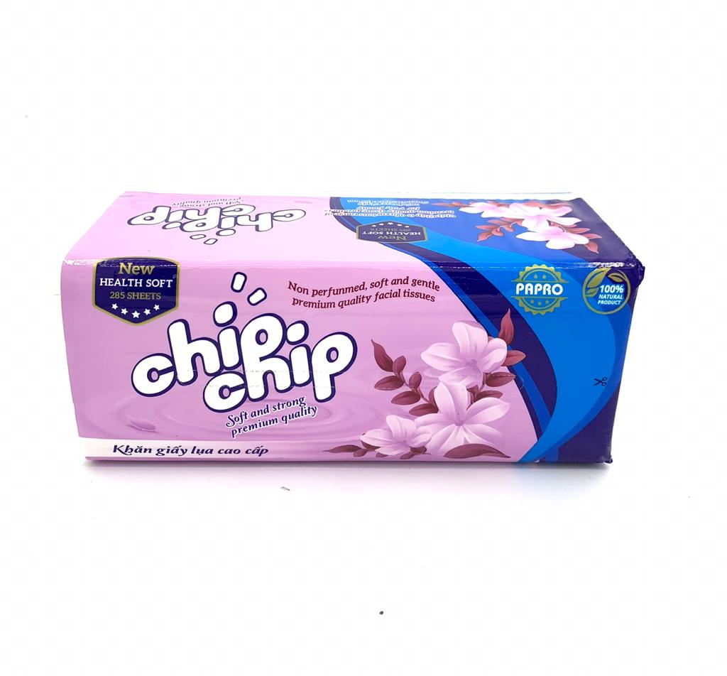 Khăn giấy rút Chipchip 285 tờ