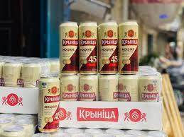 Bia Krynica Strong Nga 6,5%vol 500ml (24lon/thùng)