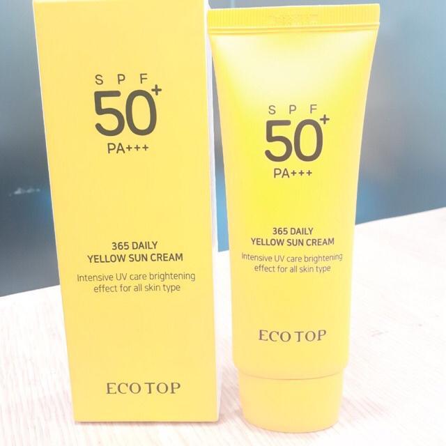Kem chống nắng Ecotop vàng 70ml Hàn Quốc