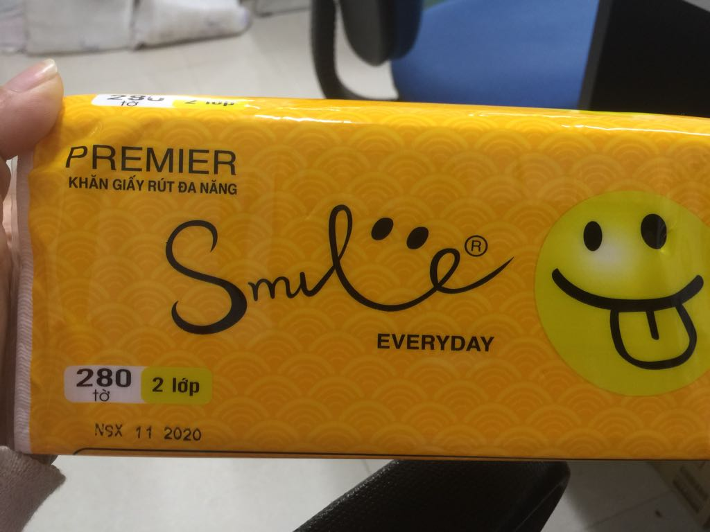 Giấy rút Smile Phúc Anh 2 lớp 280 tờ