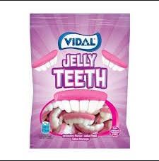 Kẹo dẻo hàm răng Vidal Tây Ban Nha 100g