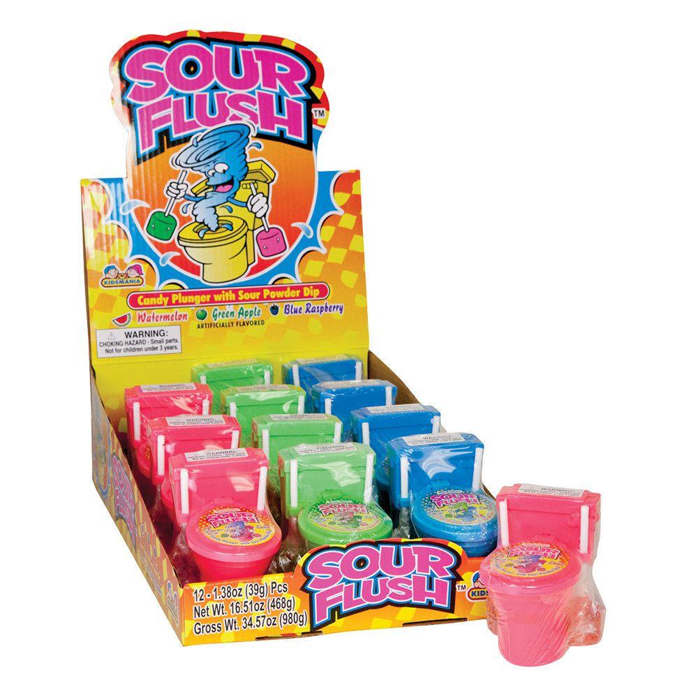 Kẹo bồn cầu 2 kẹo Sour Flush