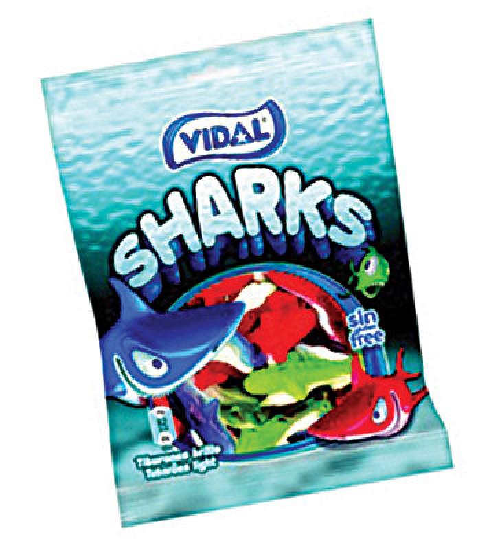 Kẹo dẻo con cá mập Vidal Tây Ban Nha 100g