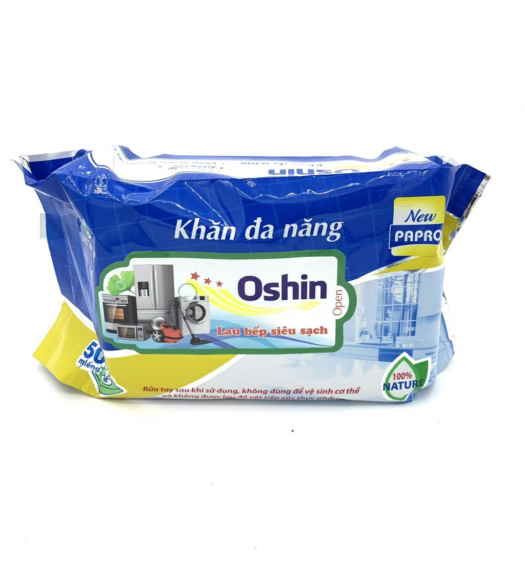 Khăn lau đa năng Oshin 50 tờ