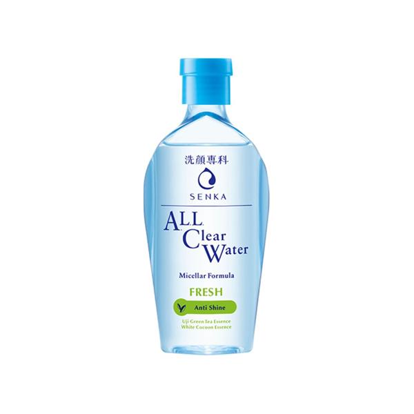 Nước tẩy trang Senka Micellar Fresh cho da nhờn 230ml Nhật Bản