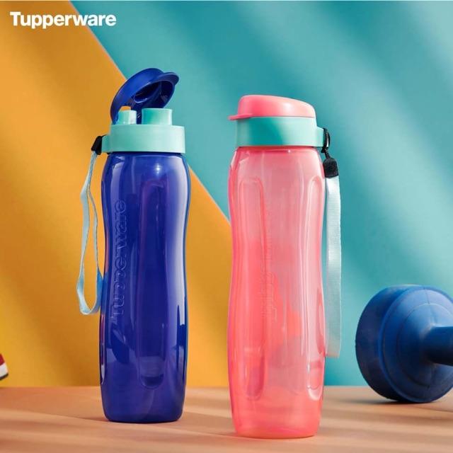 Bình nước nhựa Tupperware Eco Gen 2 màu xanh 750ml