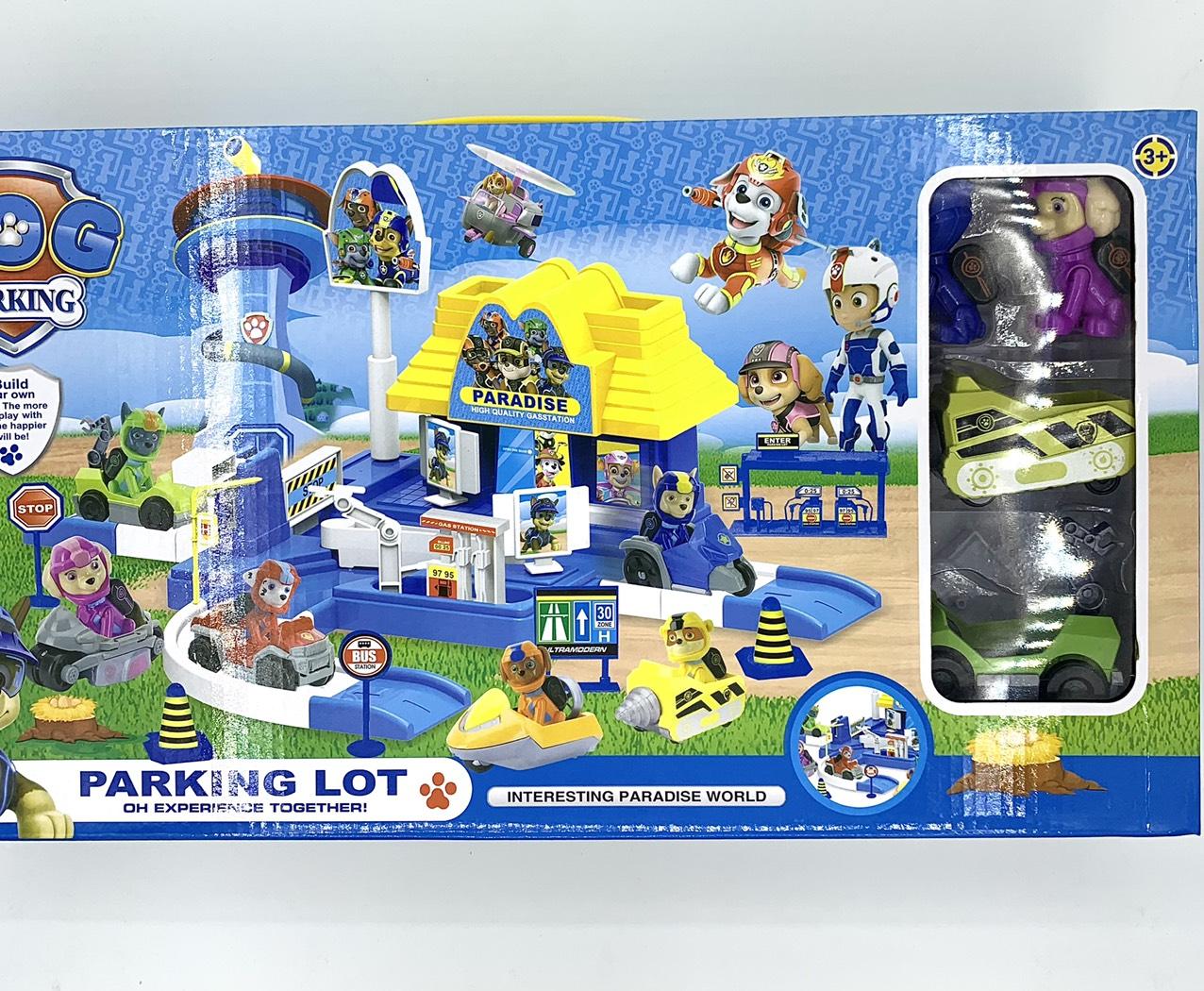 Bộ đồ chơi chú chó cứu hộ 553-212