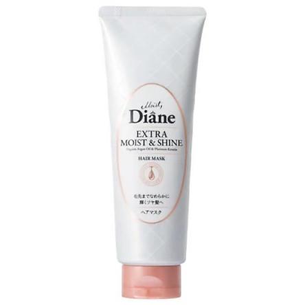 Mặt nạ tóc Diane Extra Moist&Shine phục hồi tóc sáng bóng 150g Nhật Bản
