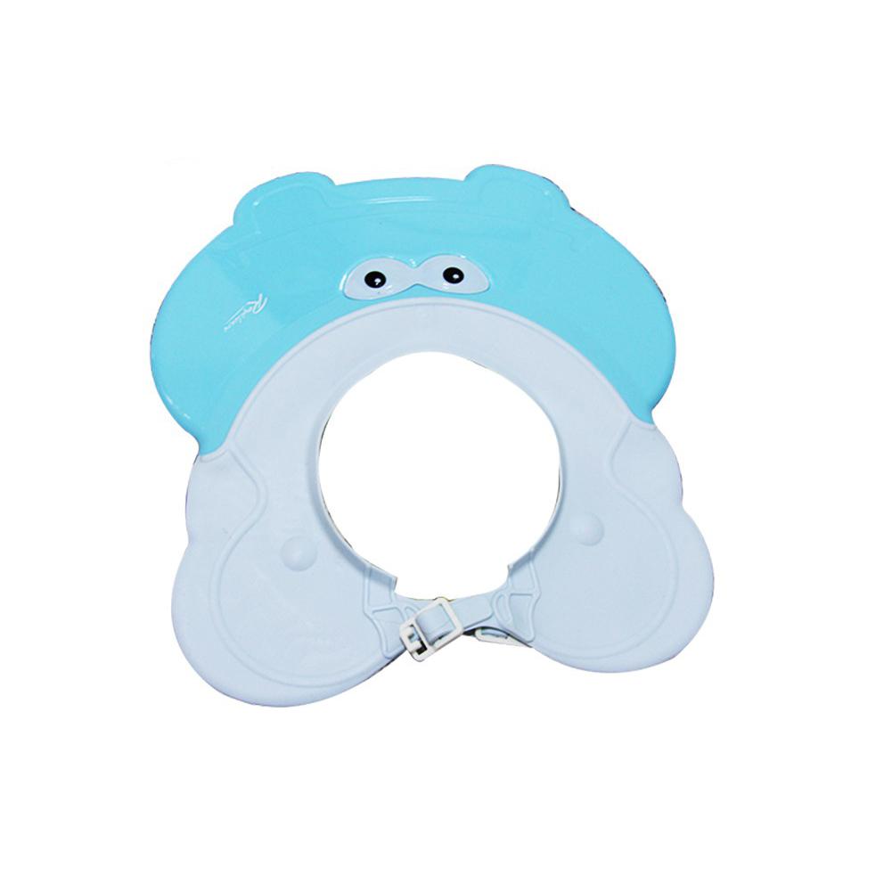 Mũ gội đầu cho bé hình hà mã Roycare xanh