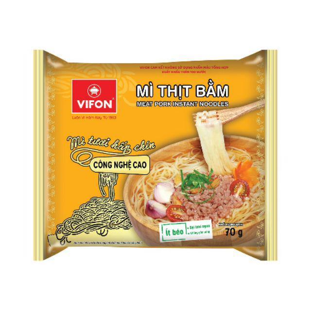Mì tươi thịt bằm Vifon 70g*30 gói