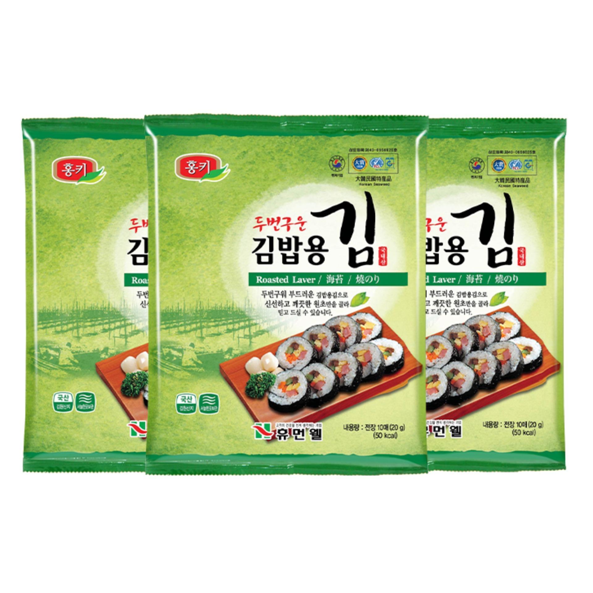 Rong biển Gimbap Humanwell Hàn Quốc 20g