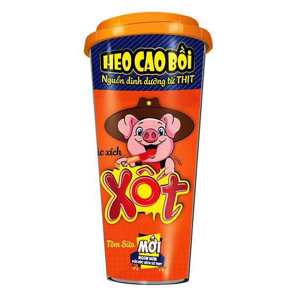 XX Heo cao bồi Xốt tôm sữa 78g
