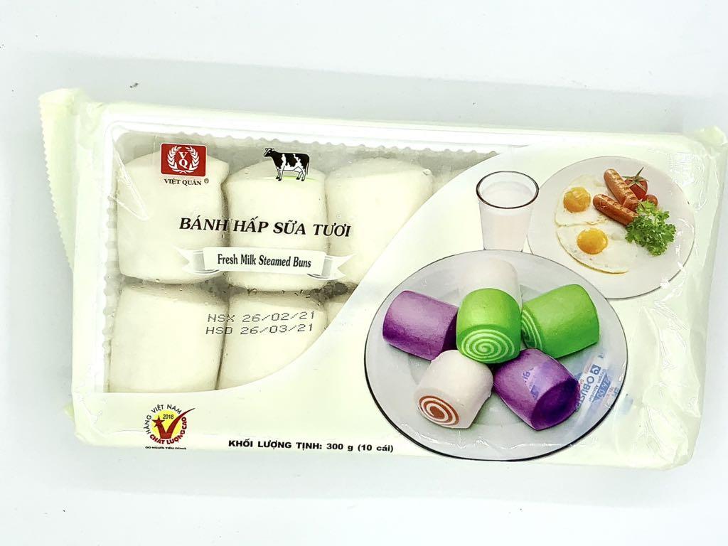 Bánh bao hấp sữa tươi Việt Quán 300g