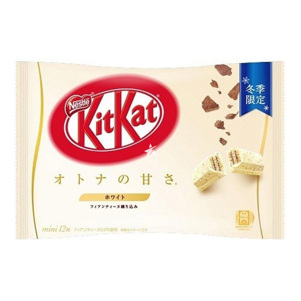 Bánh Kitkat mini White Chocolate Nestle Nhật Bản 12 thanh