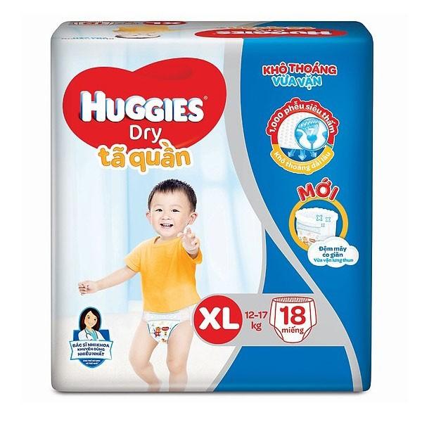 Tã quần Huggies XL18