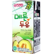 Sữa đậu nành vị dưa lưới Hàn Quốc 190ml