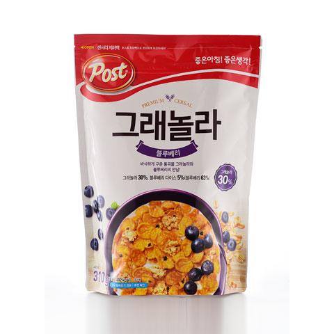 Ngũ cốc ăn sáng vị việt quất Post Hàn Quốc 310g