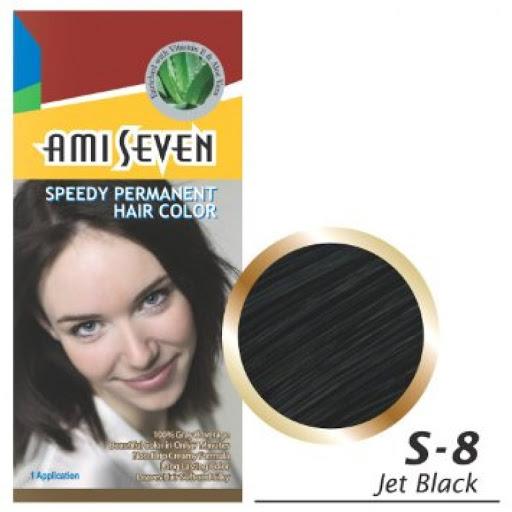 Thuốc nhuộm phủ bạc dược thảo Ami Seven màu S8-đen Hàn Quốc